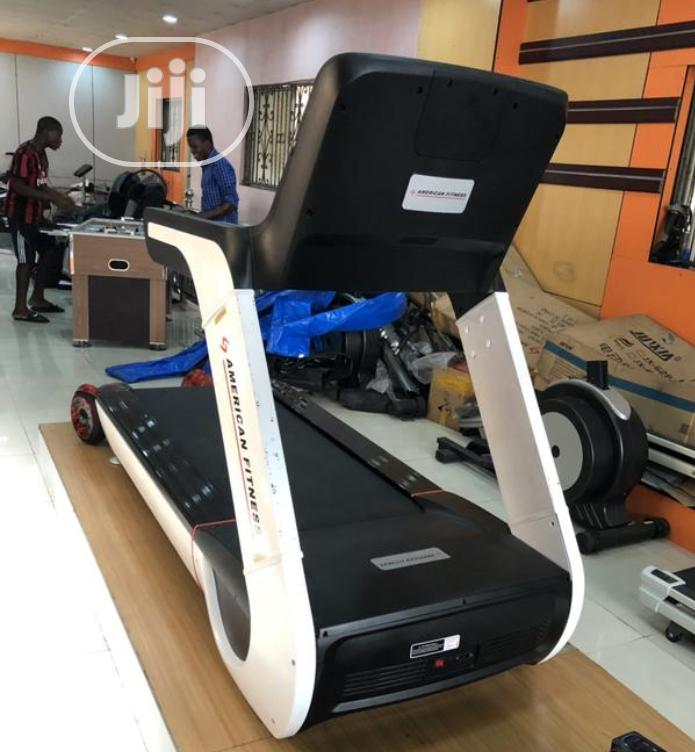 Archive: American Fitness Commercial Treadmill