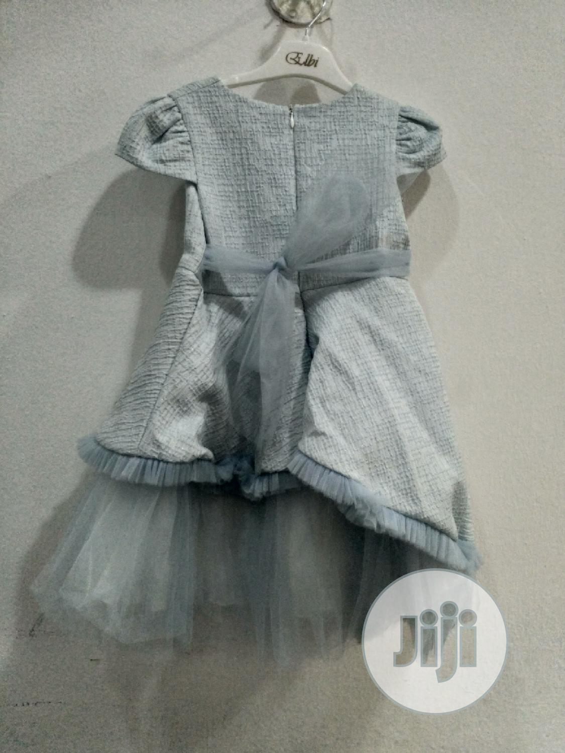 Archive: Turkish Elbi Girls Fashion Blue Full Gown
