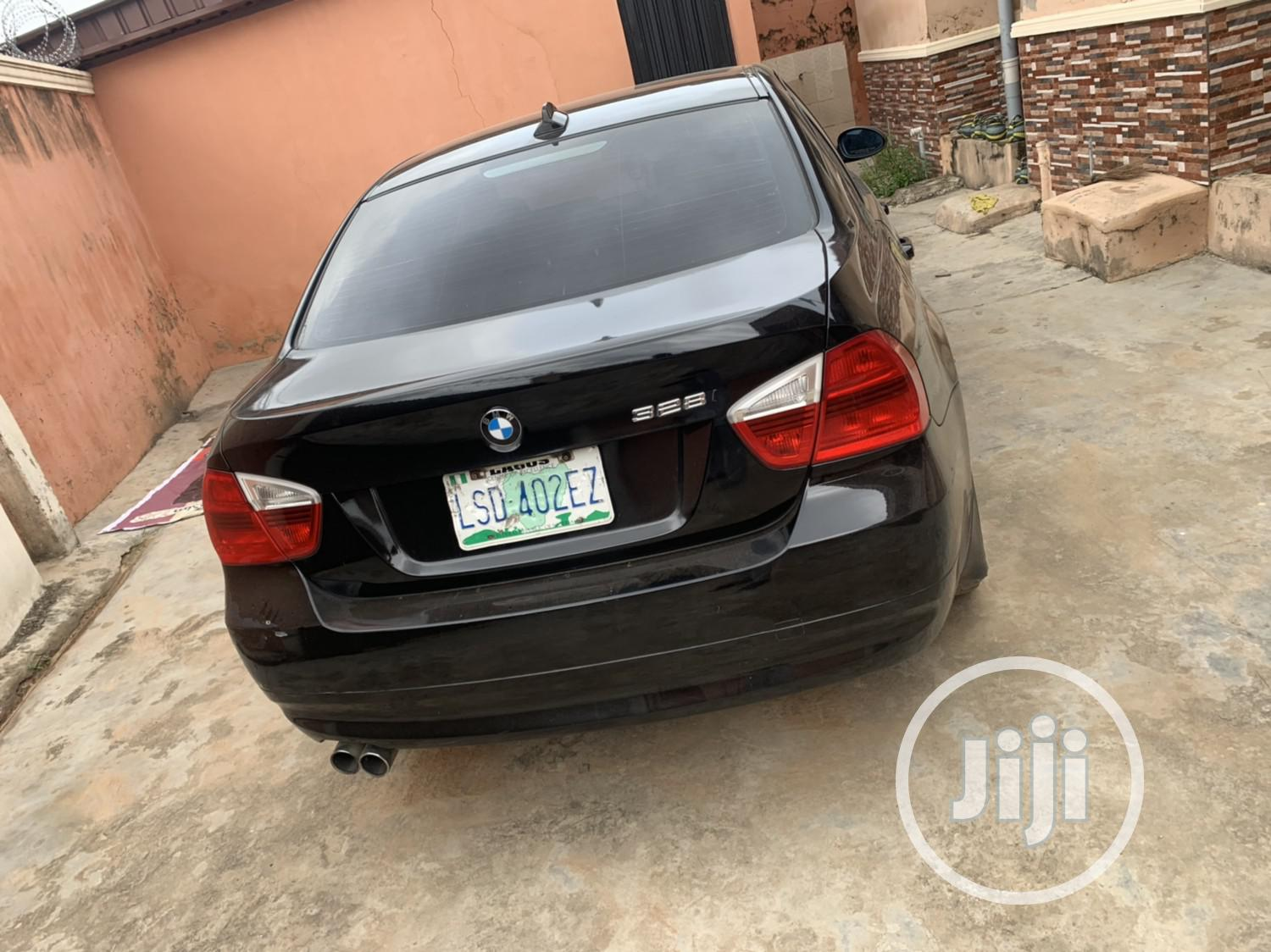BMW 328i 2008 Black | Cars for sale in Surulere, Lagos State, Nigeria