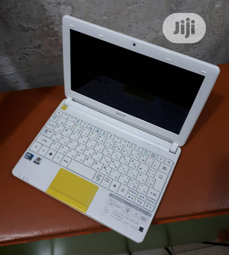 Acer Aspire One 160GB HDD 2GB RAM   Laptops & Computers for sale in Ikeja, Lagos State, Nigeria