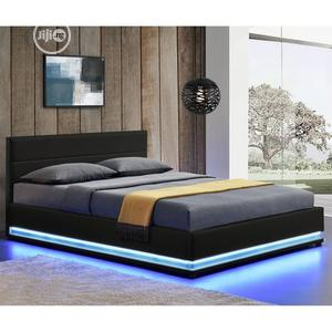 GK 7 Upholstery Sofa's LED Lights Bed Frame | Furniture for sale in Lagos State, Lekki