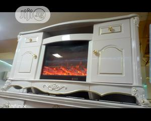 Tv Stand With Fireworks   Furniture for sale in Lagos State, Ikeja