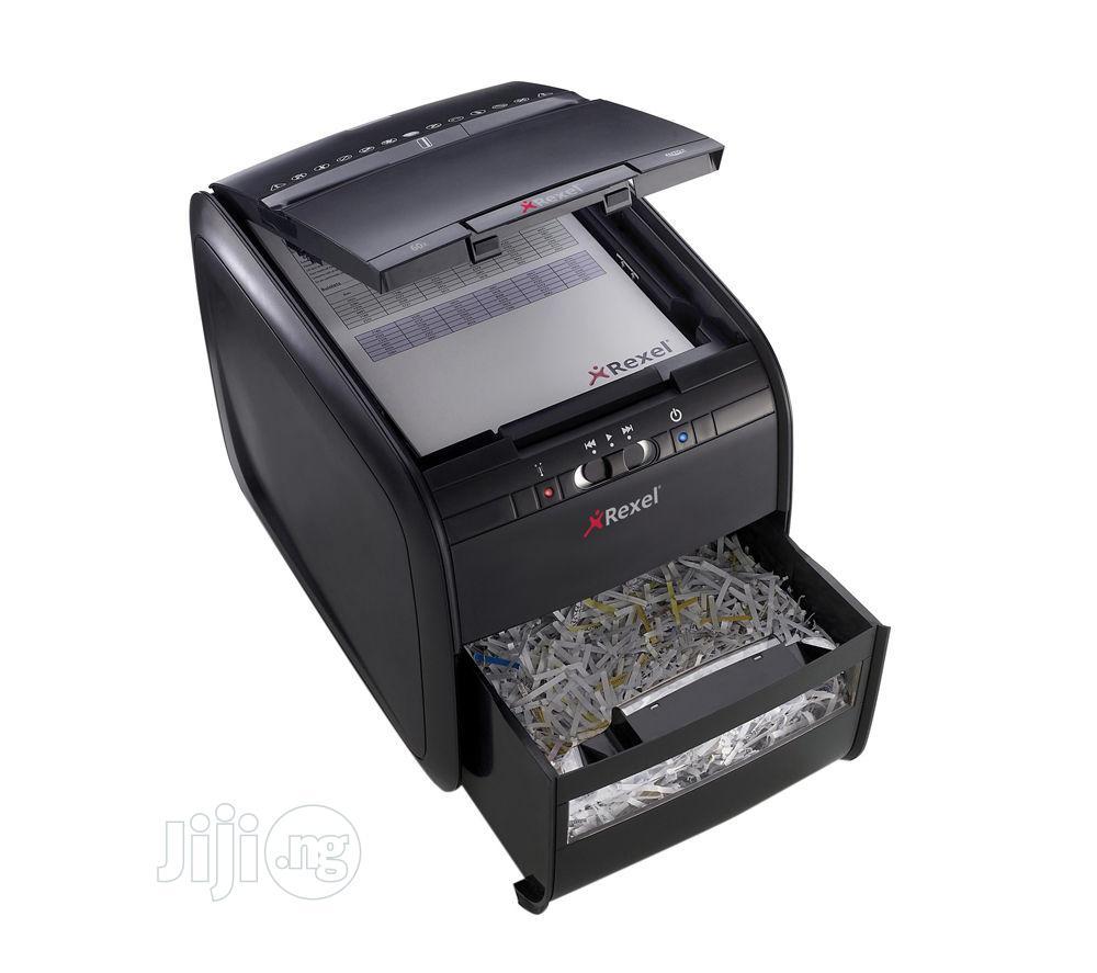 Shredder Rexel Auto+ 60X Cross Cut | Stationery for sale in Ikeja, Lagos State, Nigeria