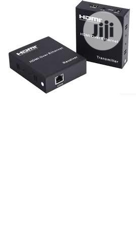 HDMI Extender120m 1080P Extender Over RJ45 Cat5e/Cat6 | Accessories & Supplies for Electronics for sale in Lagos State, Ikeja