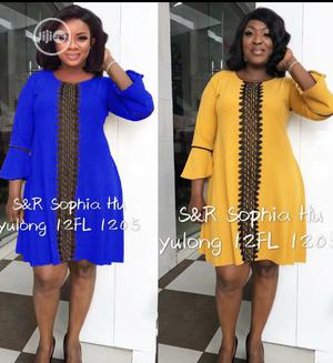 Simple Smart Flay Dress | Clothing for sale in Lagos State, Ikeja