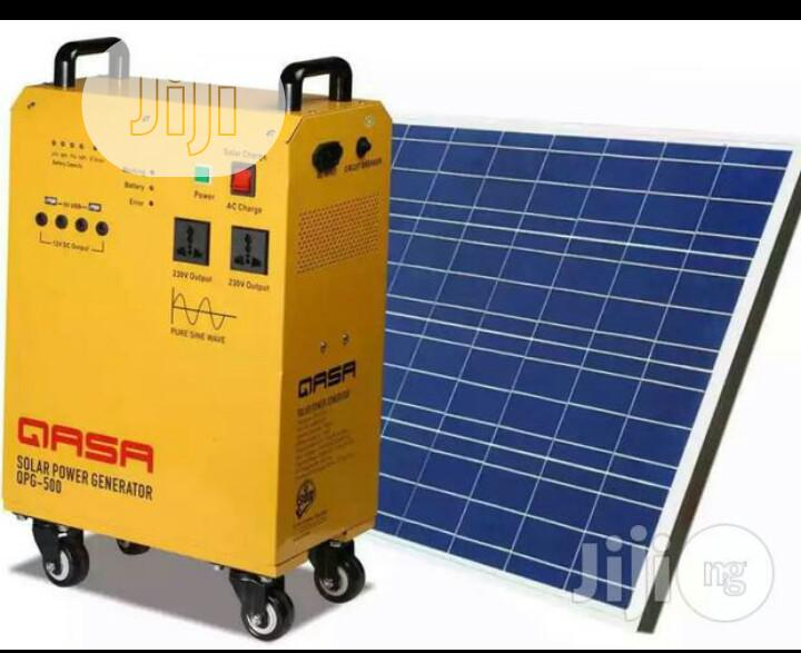 Solar Electricity Power Generator