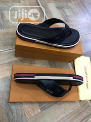 Louis Vuitton Men's Black Slippers | Shoes for sale in Lagos State, Surulere