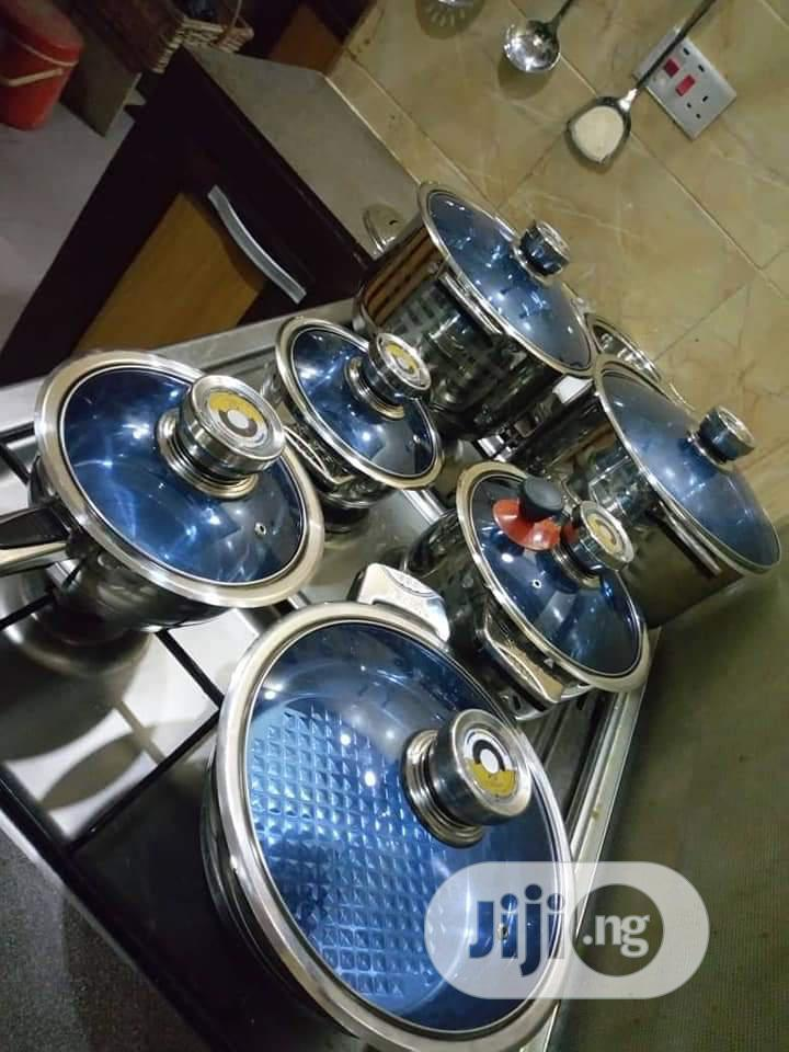 25 Pieces Set of Quality Pots   Kitchen & Dining for sale in Yaba, Lagos State, Nigeria