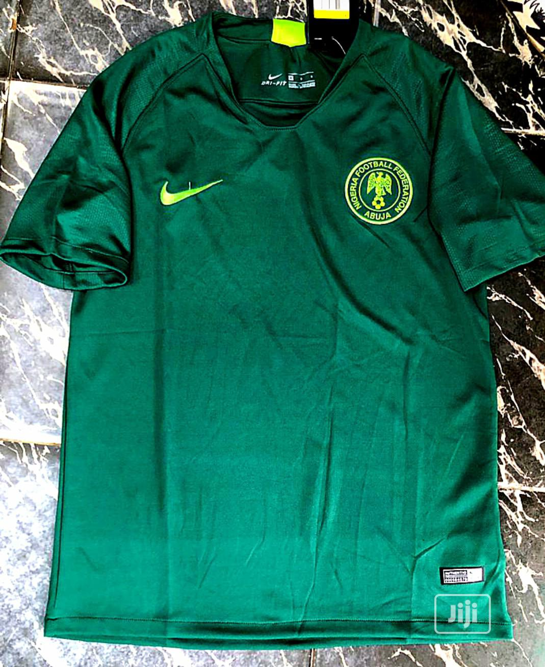 Nigerian Dark Green Jersey