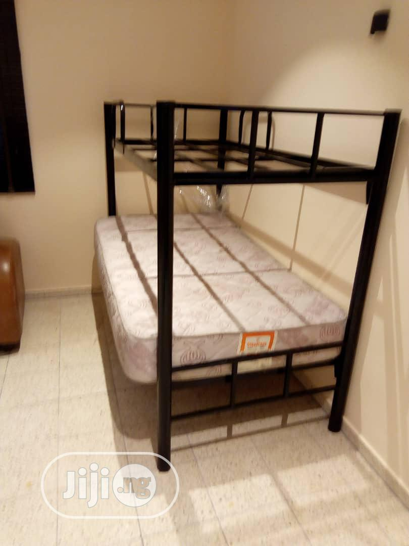 Picture of: Hostel Metal Double Bunk Bed 2 5x6ft And 3x6ft Available In Port Harcourt Furniture C J Normal Furniture Industries Ltd Jiji Ng