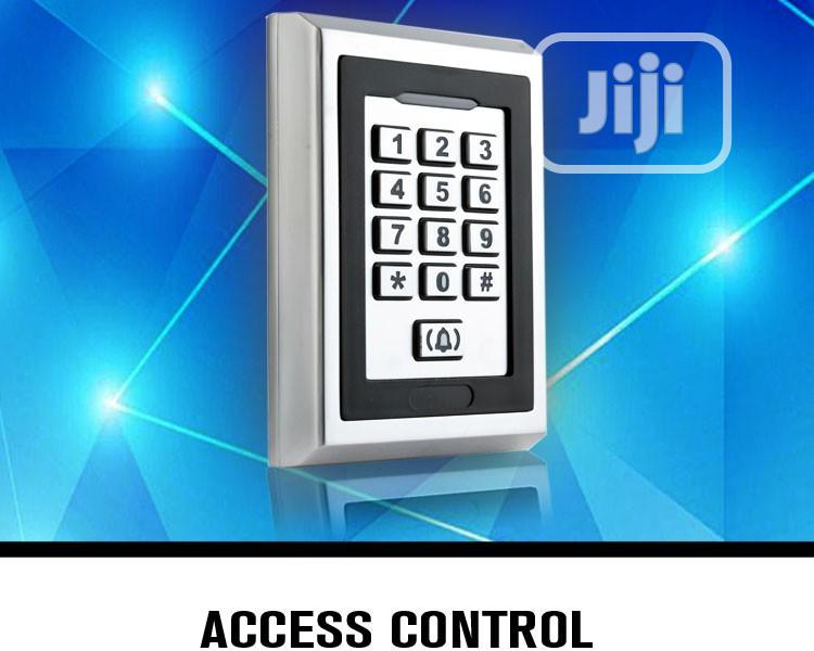 Standalone Keypad Electronic Door Access Control System