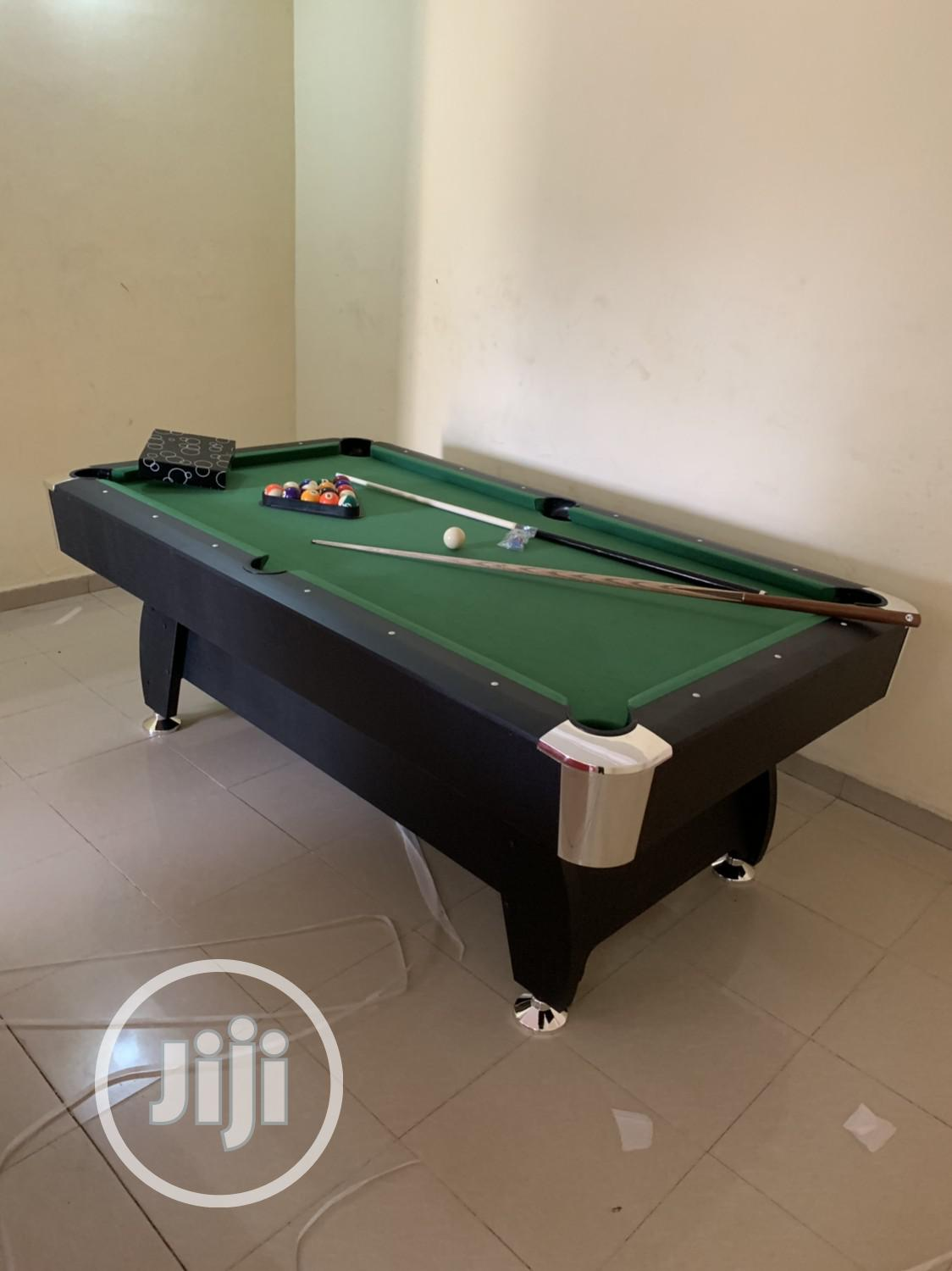 New Snooker Table With Double Accessories