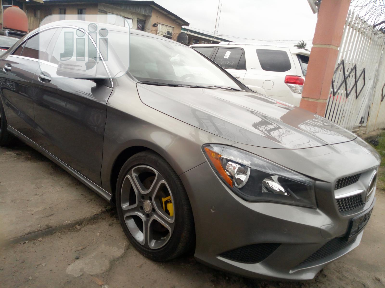 Mercedes-Benz CLA-Class 2015 Gray   Cars for sale in Ikeja, Lagos State, Nigeria
