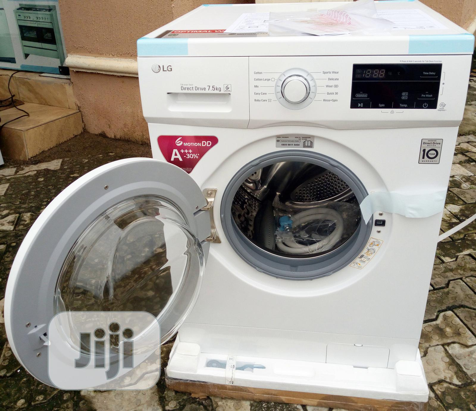 LG Washing Machine Front Loader - FH2J3QDNPO