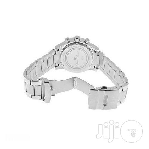 Lucien Piccard Camelot Stainless Steel Black Dial   Watches for sale in Lagos State, Nigeria
