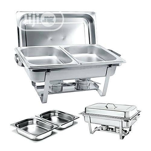 Double Chaffing Dishes Sets