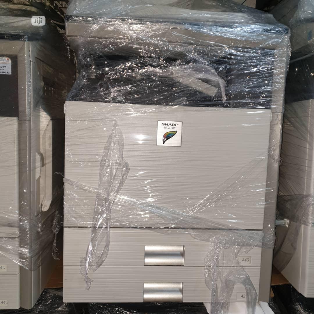 Photocopier Sharp MX-2600N(Coloured Three in One Printer)