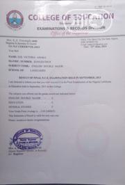 Teaching CV | Teaching CVs for sale in Ebonyi State, Ohaozara