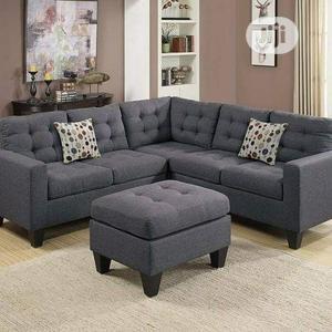 Fabulous Fabric 5 Seater L Shape Sofa | Furniture for sale in Lagos State, Lekki