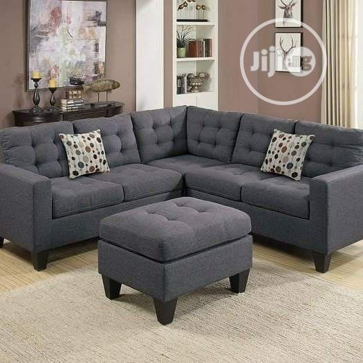 Fabulous Fabric 5 Seater L Shape Sofa