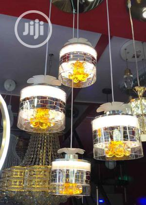 Gold Led Pendant Light Can Be Used In Sitting Room, Church,Hall,Etc | Home Accessories for sale in Lagos State, Lekki