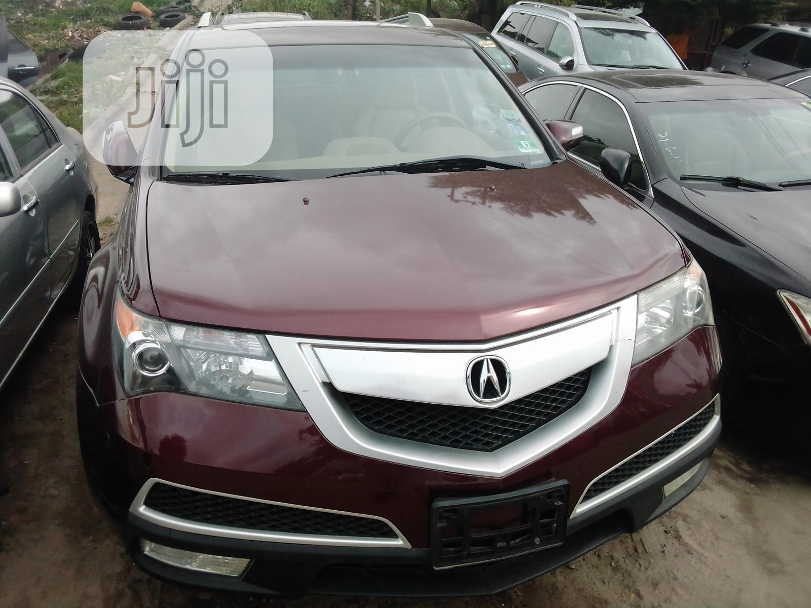 Acura MDX 2011 Red | Cars for sale in Apapa, Lagos State, Nigeria