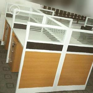 Top Class Glass Partition Wotkstation   Furniture for sale in Lagos State, Oshodi