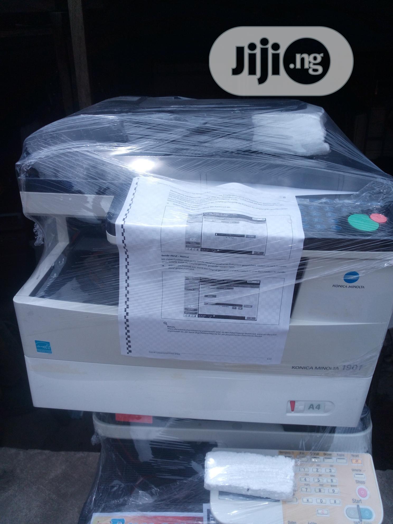Archive: Konica Minolta 190f Photocopy Machine 3in1 Black and White