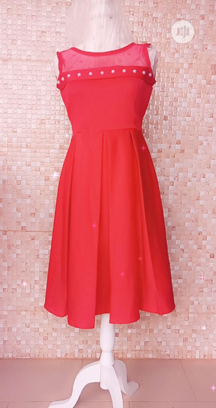 Teen Red Dress