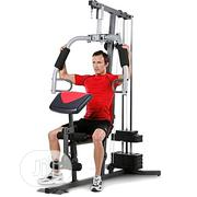 Generic Multi-Function One-Station Home Gym With Punch Bag   Sports Equipment for sale in Rivers State, Port-Harcourt
