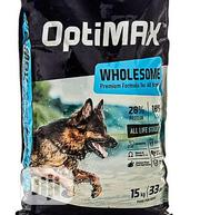 Quality Original Optimax Puppy And Adult Dog Crunchy Dry Food Big Bag | Pet's Accessories for sale in Lagos State, Ajah