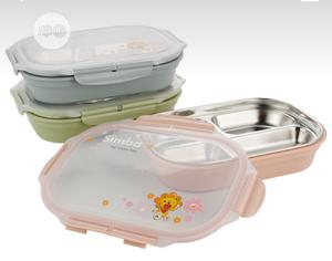 Divided Stainless Steel Kids Lunch Box | Babies & Kids Accessories for sale in Rivers State, Port-Harcourt