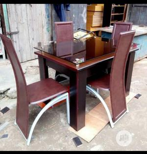 Dinning Table With 4 Chairs | Furniture for sale in Lagos State, Mushin