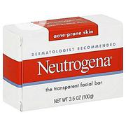 Neutrogena Facial Cleansing Bar Soap For Acne & Spot Treatment   Skin Care for sale in Lagos State, Amuwo-Odofin