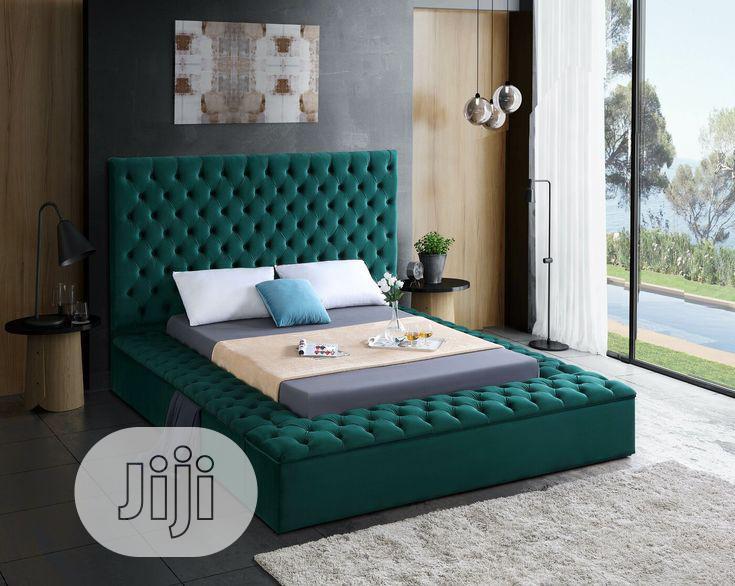 Ruthann Upholstered Sofa's Frabic Bedroom,Bed Frame