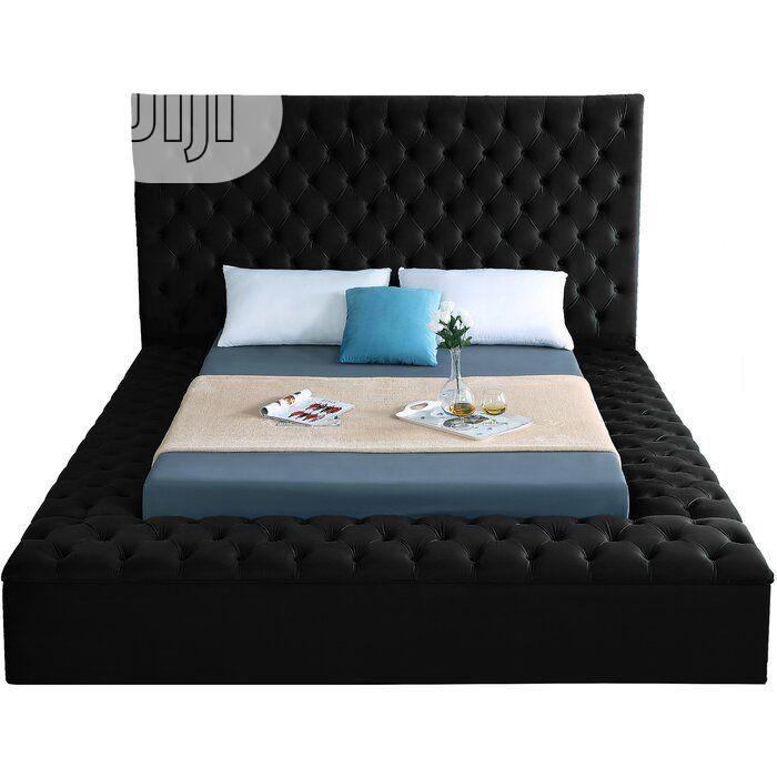 Ruthann Upholstered Sofa's Frabic Bedroom,Bed Frame | Furniture for sale in Lekki, Lagos State, Nigeria