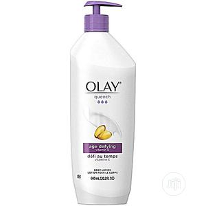 Olay Quench Age Defying Body Lotion With Vitamin E (600ml)   Skin Care for sale in Lagos State, Amuwo-Odofin