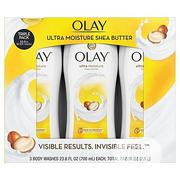 Olay 3in1 Ultra Moisture Shea Butter Body Wash 700ml Each (2.1L) | Skin Care for sale in Lagos State, Amuwo-Odofin