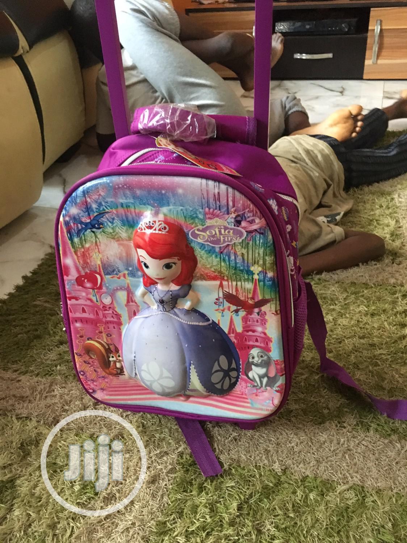 Archive: Sofia Trolley School Bag/Backpack