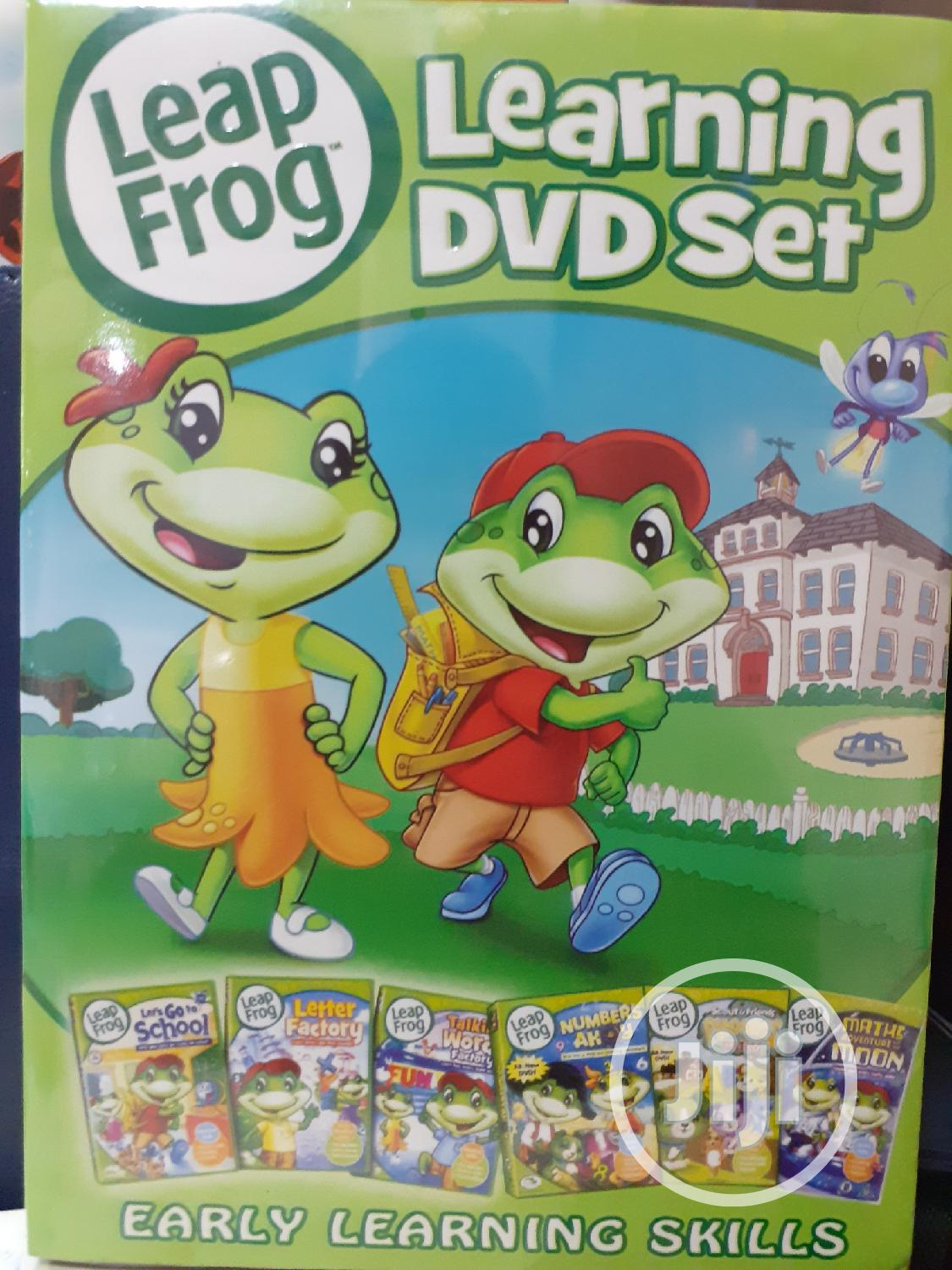 Leap Frog 6 Learning DVD Set