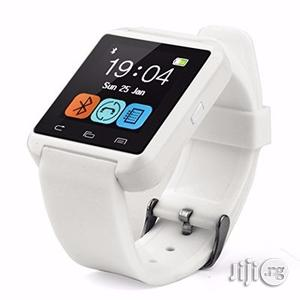 U8 Smart Watch - White | Smart Watches & Trackers for sale in Lagos State