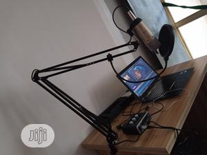 Boom Scissor Microphone Stand Holder With Inbuilt Mic Xlr Cable | Accessories & Supplies for Electronics for sale in Lagos State