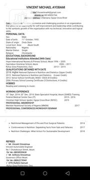 Public Health Maintenance Jobs | Healthcare & Nursing CVs for sale in Cross River State, Ogoja