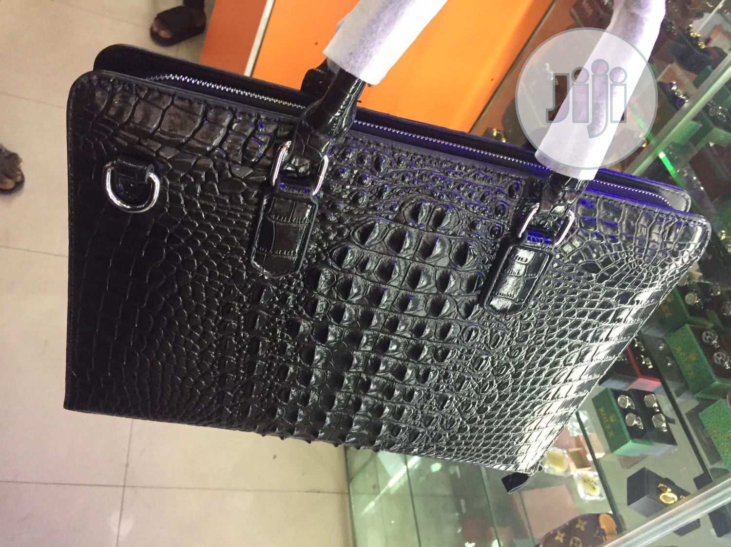 Skin Leather Laptop/Official Bag Available as Seen Order Yours Now