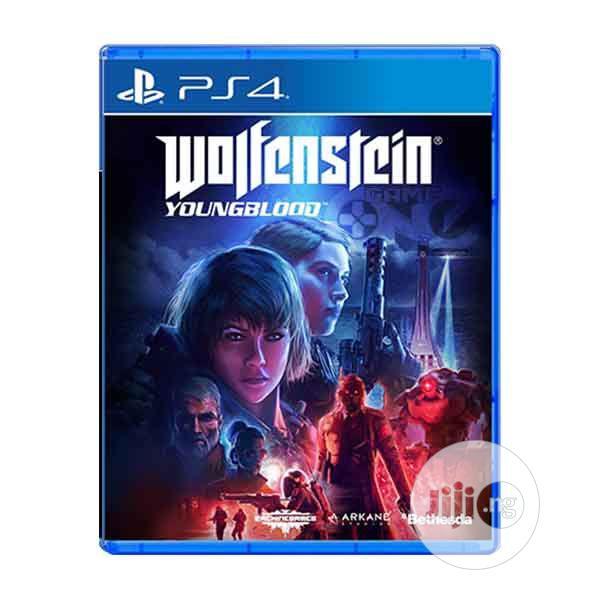 PS4 Wolfenstein Young Blood