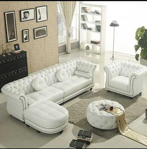 Exotic Living Room Leather Soffa | Furniture for sale in Lagos State, Lagos Island (Eko)