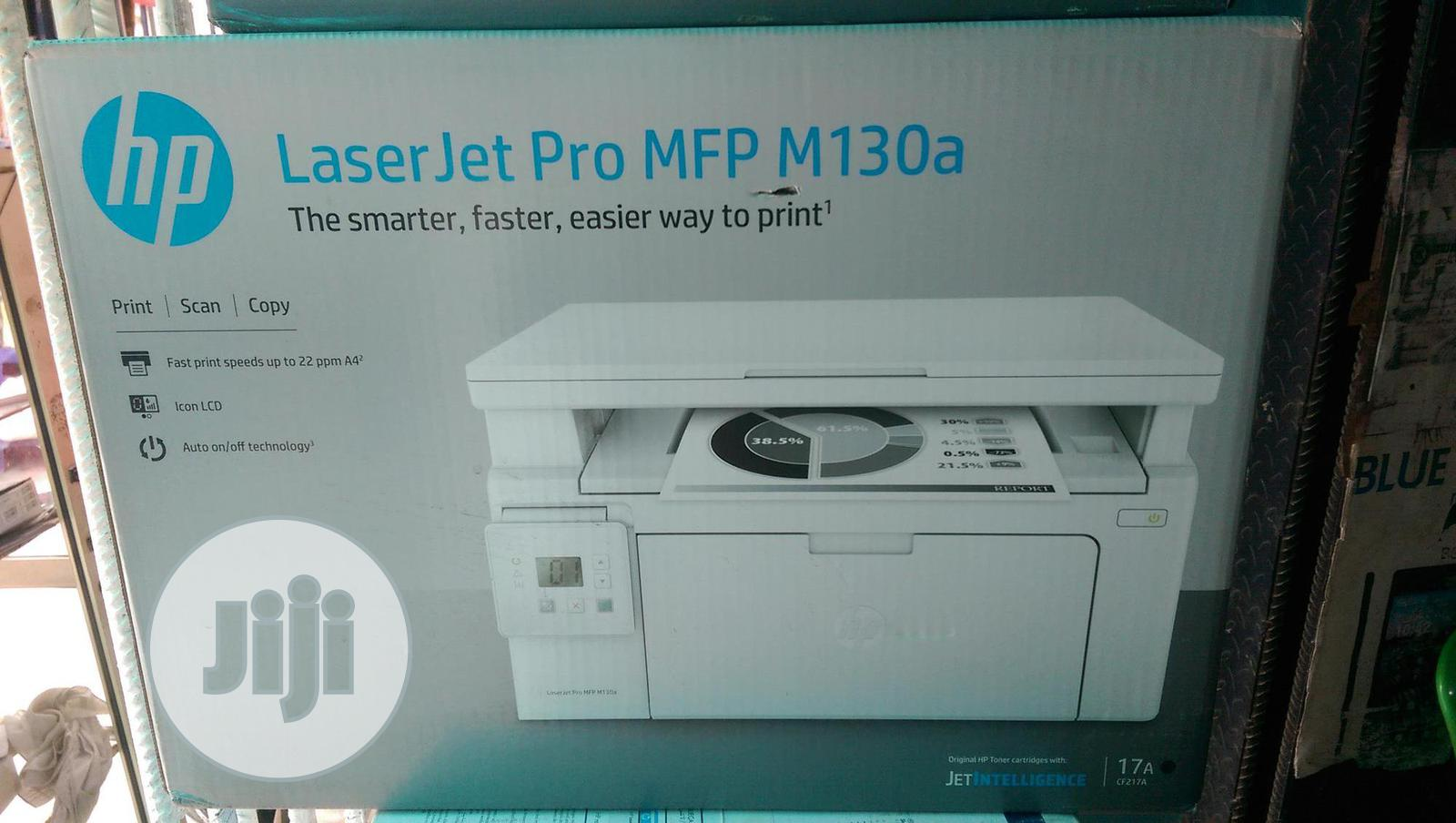 Archive: Hp Printer Laserjet Pro MFP M130a ( All In One)