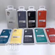 Galaxy Note-10+ And Note 10 Liquid-silicone-case-armor | Accessories for Mobile Phones & Tablets for sale in Lagos State, Ikeja