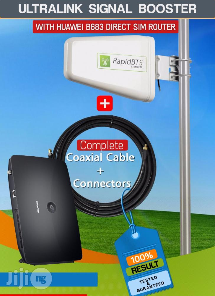 Archive: Huawei SIM Router + Outdoor Antenna -15 Meters Cable