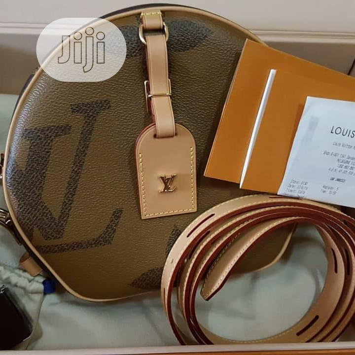 Original Louis Vuitton Leather Bag